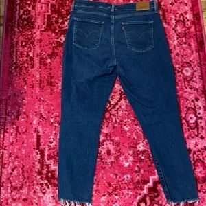 Levi's Jeans - High Rise Skinny Cropped